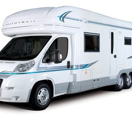 Author visits by motorhome