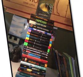 Book pile, Roland Smith